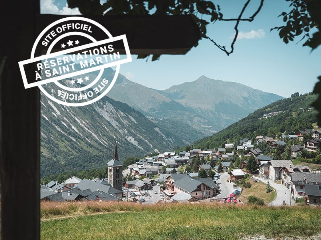 Saint Martin booking center - accomodation - activities - summer holidays - 3 Vallées