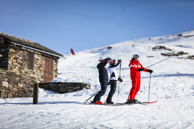 ski snowboard and activities sledging - Saint Martin de Belleville ski resort - 3 Valleys