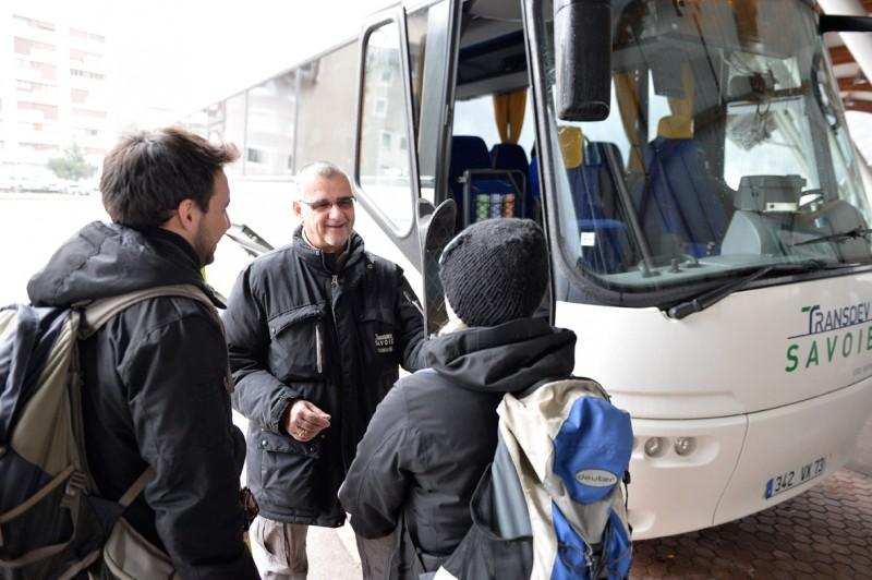 Bus access in Les Belleville