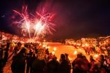 Jour de l'An à Saint Martin de Belleville